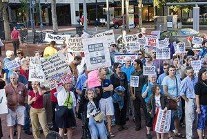 MoveOn rally