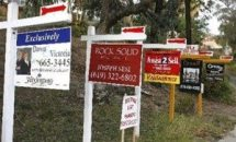 For sale houses signs