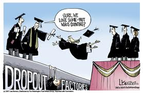 schools dropout cartoon
