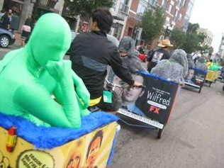 ComicCon pedicabs