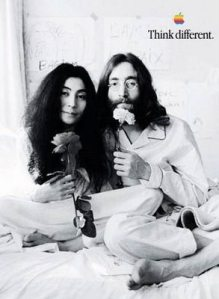 John Lennon ad Apple