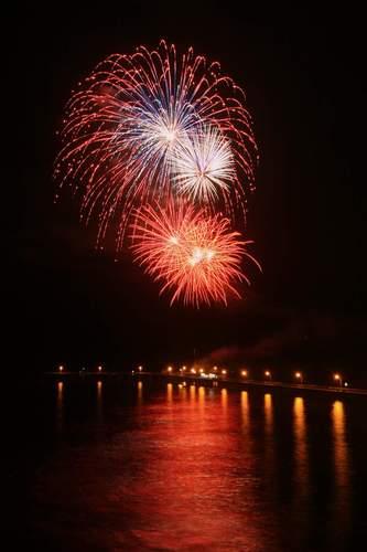 fireworks OB pier
