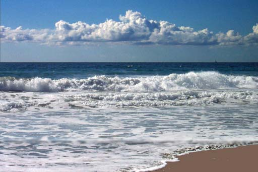 pacific ocean wbeach