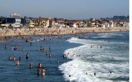Mission Beach coastline
