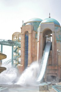 SeaWorld splashdown ride