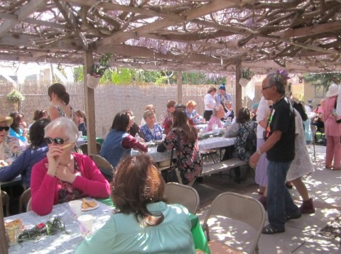 OB Wisteria Party 3-23-13 crowd01