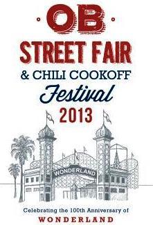 OB Street Fair 2013 poster