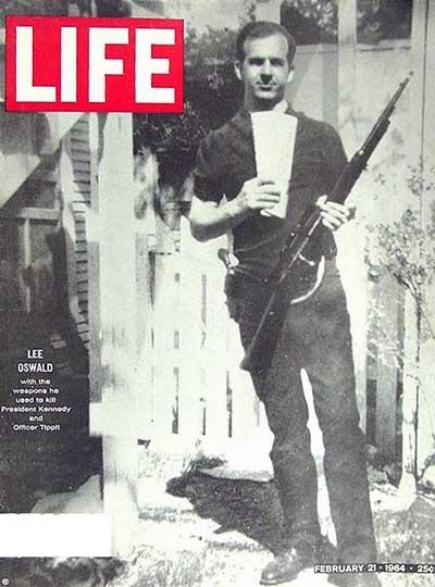 JFK ass Oswald backyd Life