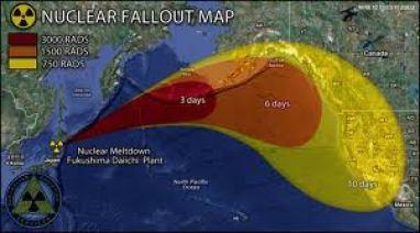 fukushima fallout map