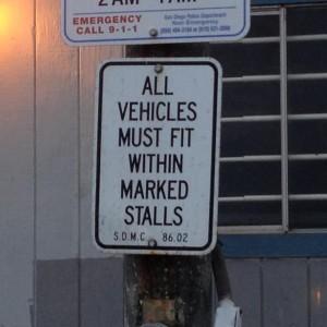 OB police trailer sign va Dec2013