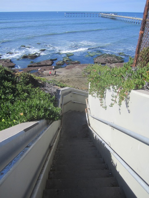 OB Dist 5 stairs