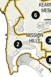 san diego old Dist 2 map 2011