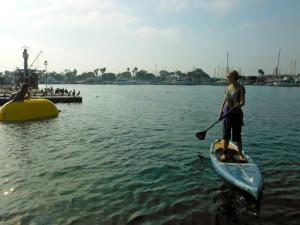 Sarah Boot kayak