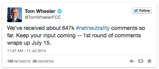 FCC tweet