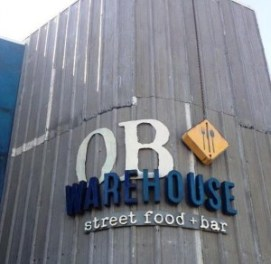 OB Warehouse-sign