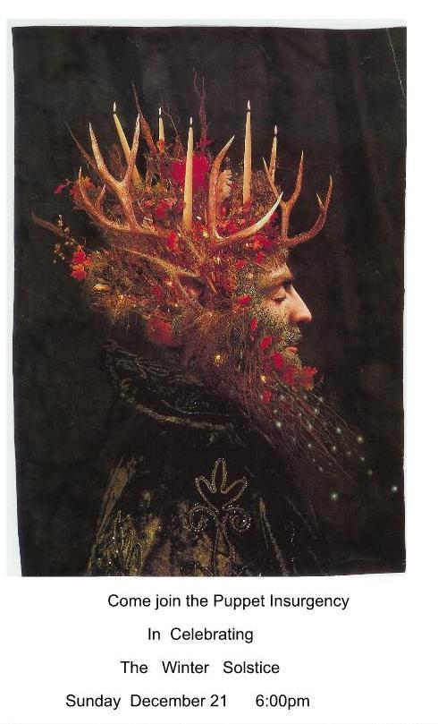 OB Winter Solstice 2014 poster