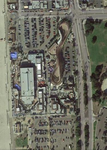 Belmont Park aerial