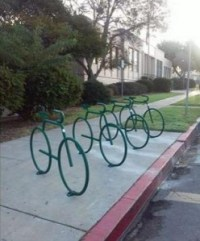 OB Bike racks new