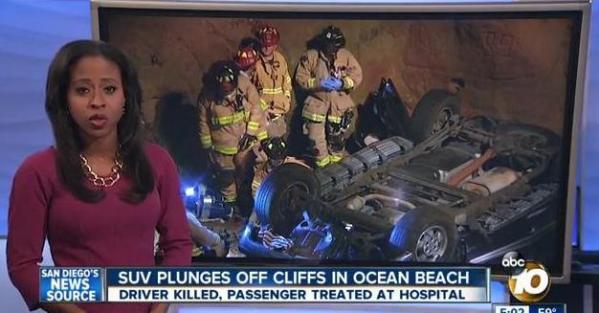 OB Cliff autocrash 1-2-15 10news
