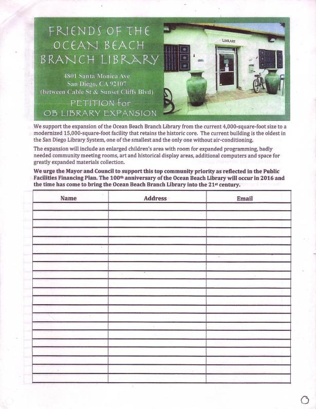OB Library Petition Exp Jan 2015