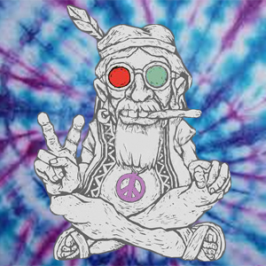 Old Hippie ob time