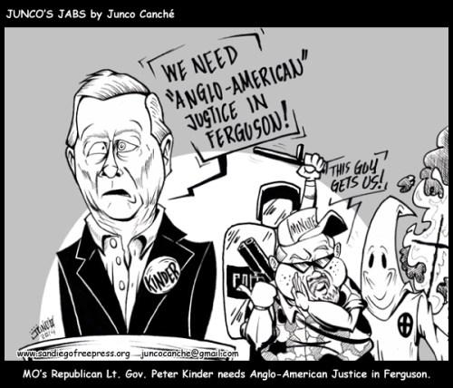 junco jab Ferguson