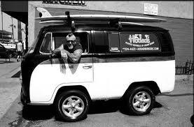 Mike Hardin in vw van