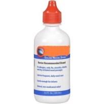 saline bottle