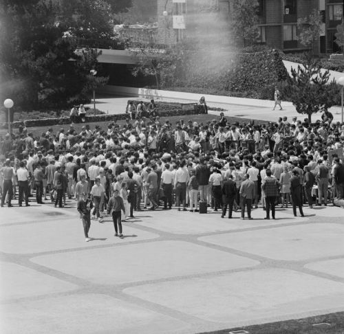 UCSD quad protest 1969-70