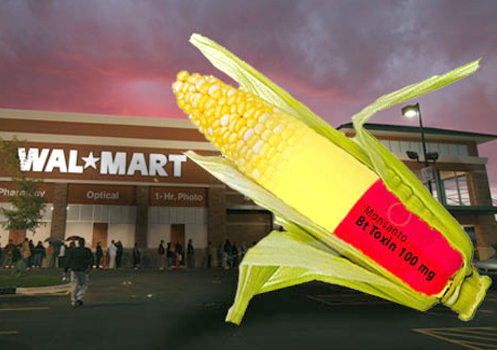 Monsanto corn Walmart