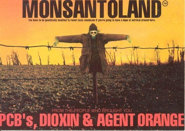 Monsanto scarecrow