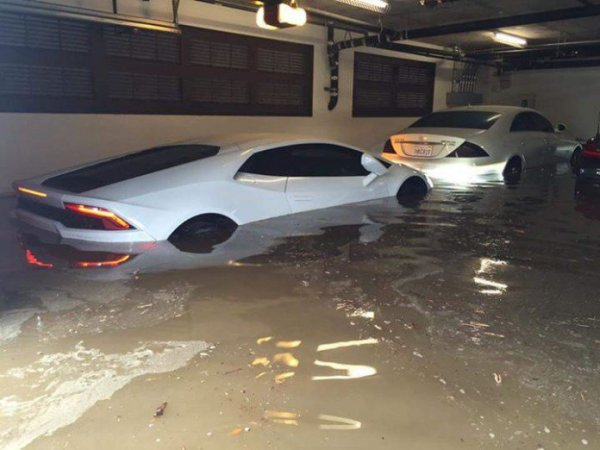 OB flood cars 9-15-15