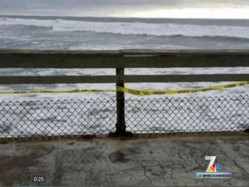 OB pier damage 1-24-16