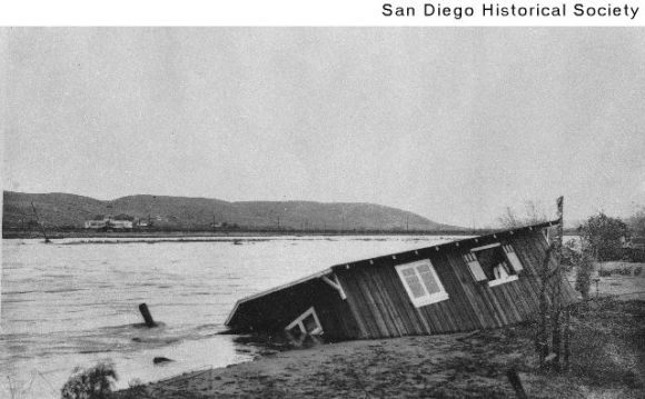 San Diego flood 1916 oldtown