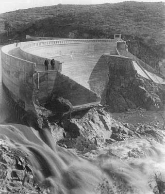 San Diego flood 1916 sweetWDam