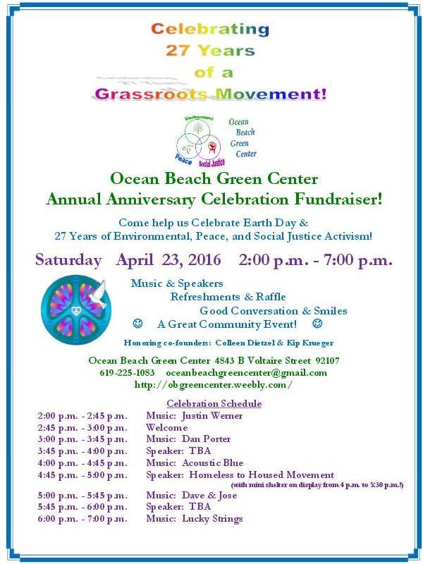 OB Green Center poster 4-23-16