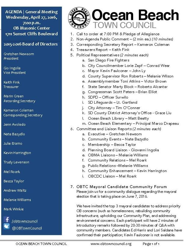 OBTC agenda 4-27-16