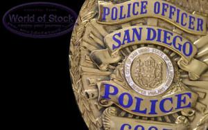 Police badge sd
