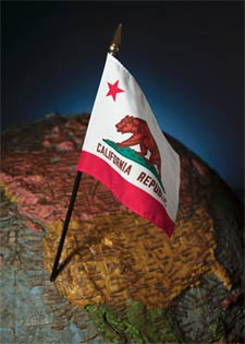 california map flag