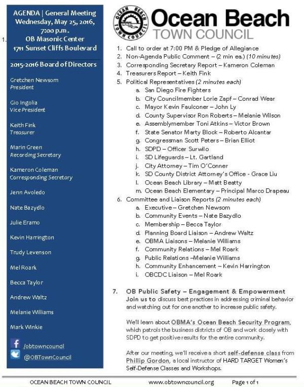 OBTC agenda 5-25-16
