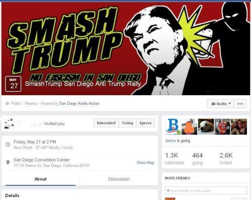 Trump SmashTrump fb fb