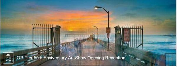 OB OB Pier 50th Art Image