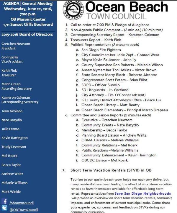 OBTC agenda 6-22-16
