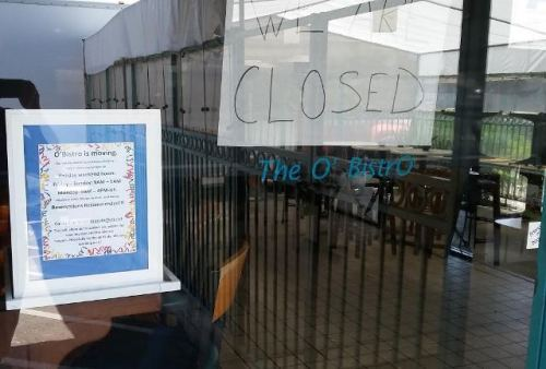 OB OBistro closed