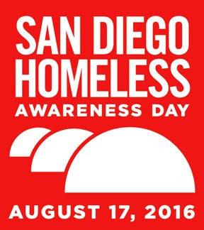 San Diego homeless awareday 81716