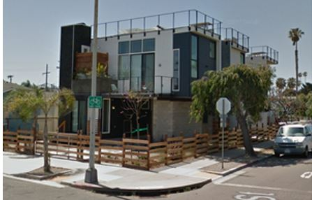Voltaire Abbott The Poster Child For STVR Redevelopment 3 Homes Lifted In As Modular Units Have Been Turned Into Vacation Rentals Here