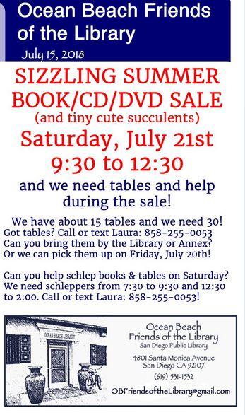 ob lib friends sale 7-21-18 p2