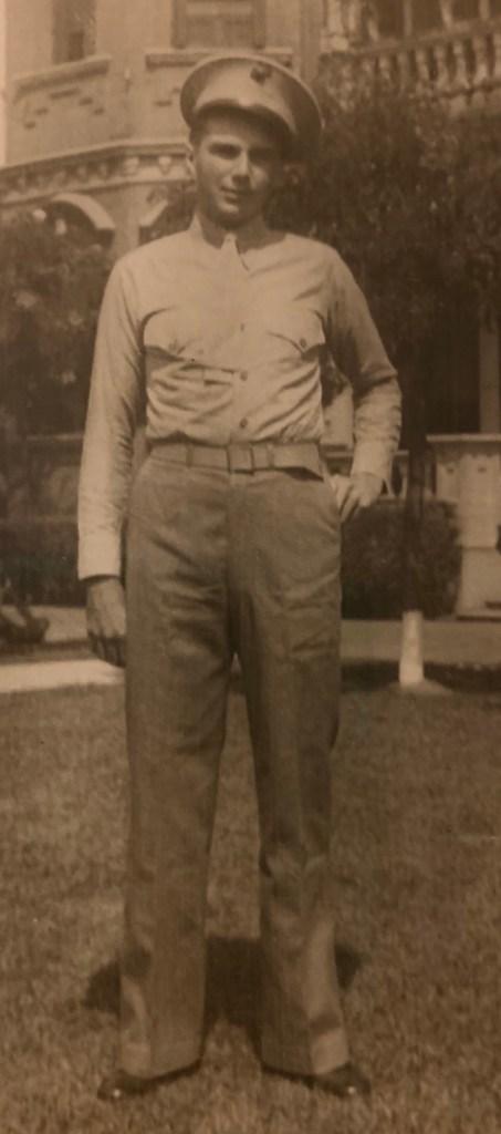 Lawrence Edward Webber - 1920 to 1945