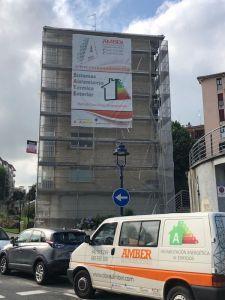 rehabilitación energética con SATE según proyecto