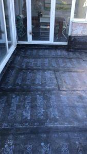 Picado de cerámica en terraza